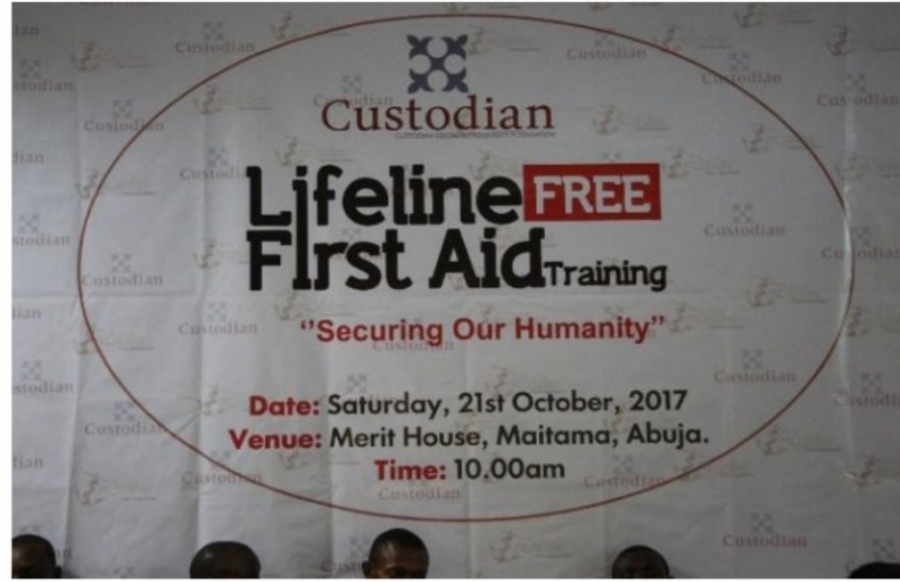 Custodian/Lifeline Free First Aid Training